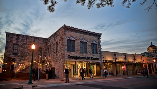 Georgetown Art Center in downtown Georgetown, Texas
