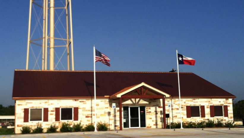 Image of post office in Jarrell, Texas