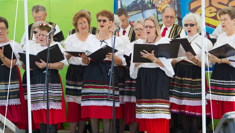 Image of the Czech Chorus in Taylor, Texas
