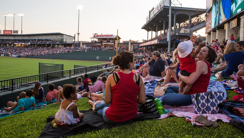 Image of Dell Diamond, Round Rock Express Triple-A Minor League Baseball Team
